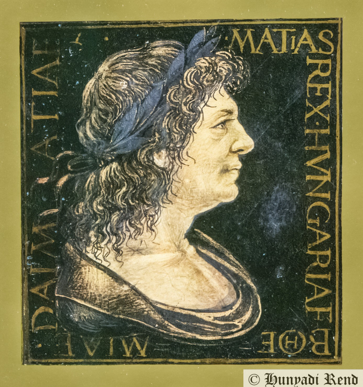 Hunyadi Mátyás királlyá koronázása