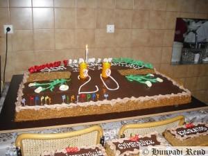 A 20 éves Szent Ferenc Alapítvány ünnepi tortája