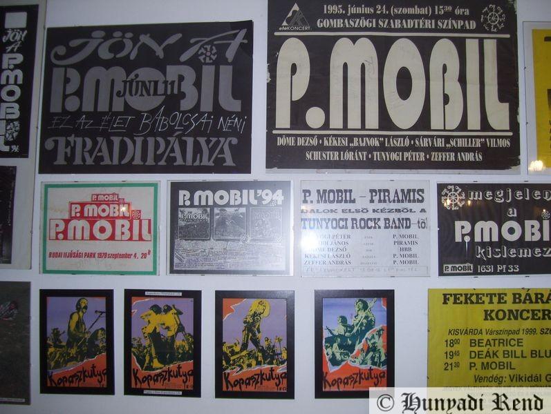 P. Mobil Rockmúzeum