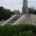 A vesztőhely közelében emelt emlékmű