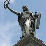 Hungária, a Szabadság-szobor főalakja