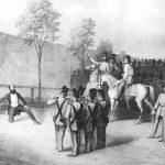 Gróf Batthyány Lajos kivégzése Pesten