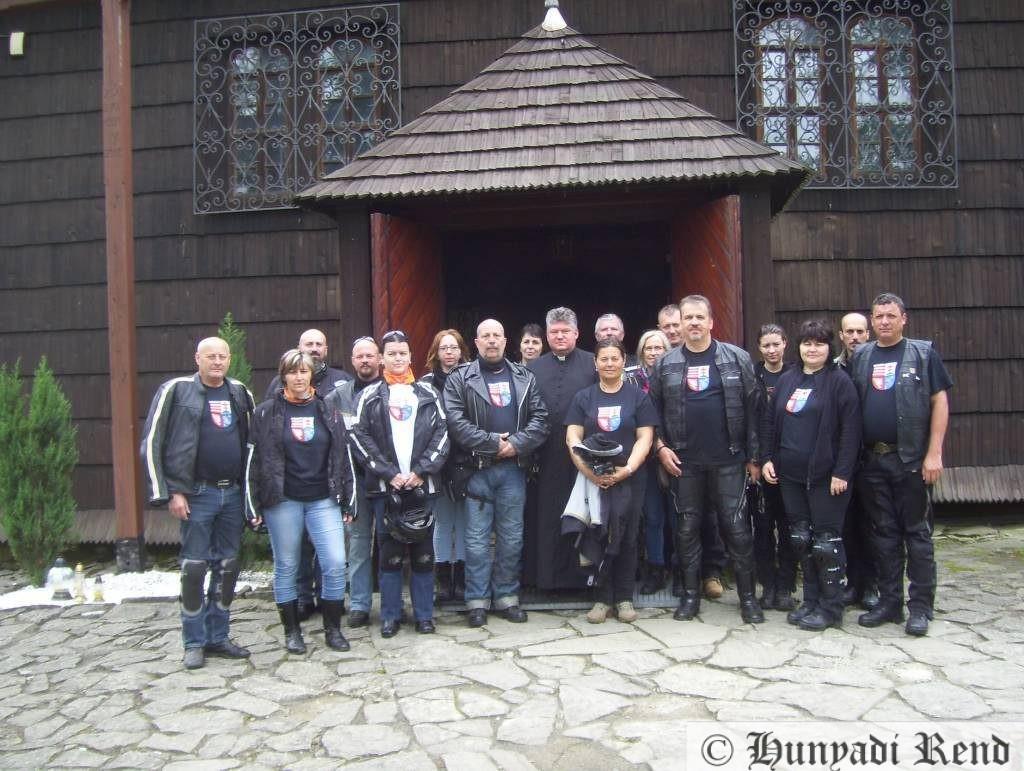 Orawka - Magyar szentek temploma