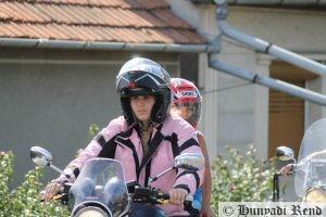 Gyermek motoroztatás, a várva várt program