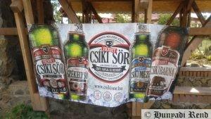 Tiltott Csíki Sör - A segélytúra támogatója